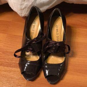 Wild Diva spike heels